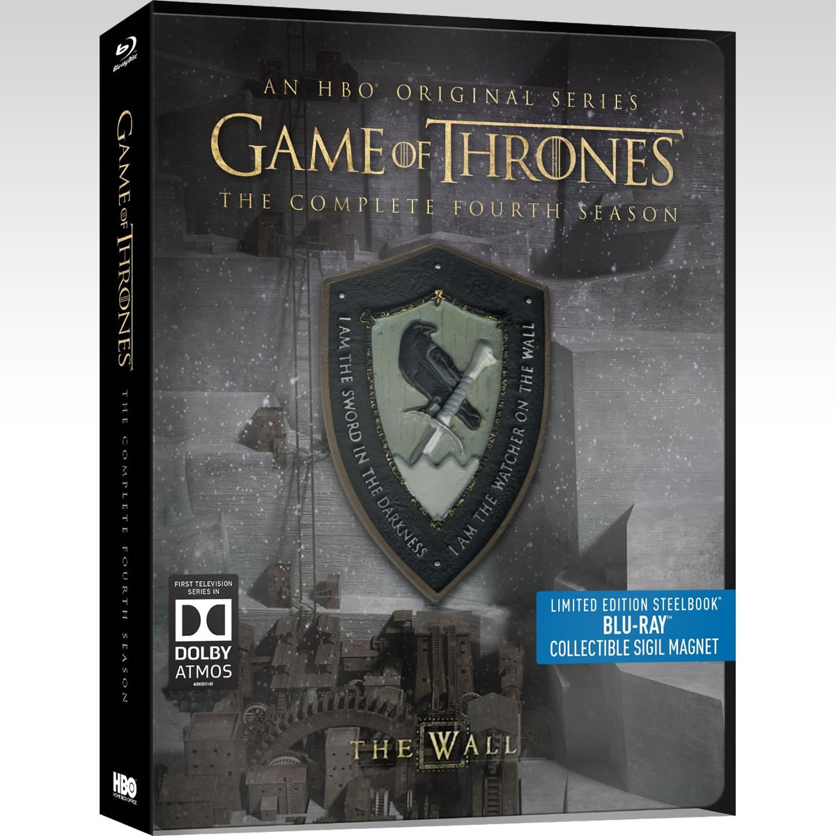 GAME OF THRONES: THE COMPLETE 4th SEASON - Limited Edition Steelbook [��������� �� ���������� ����������] (BLU-RAY)