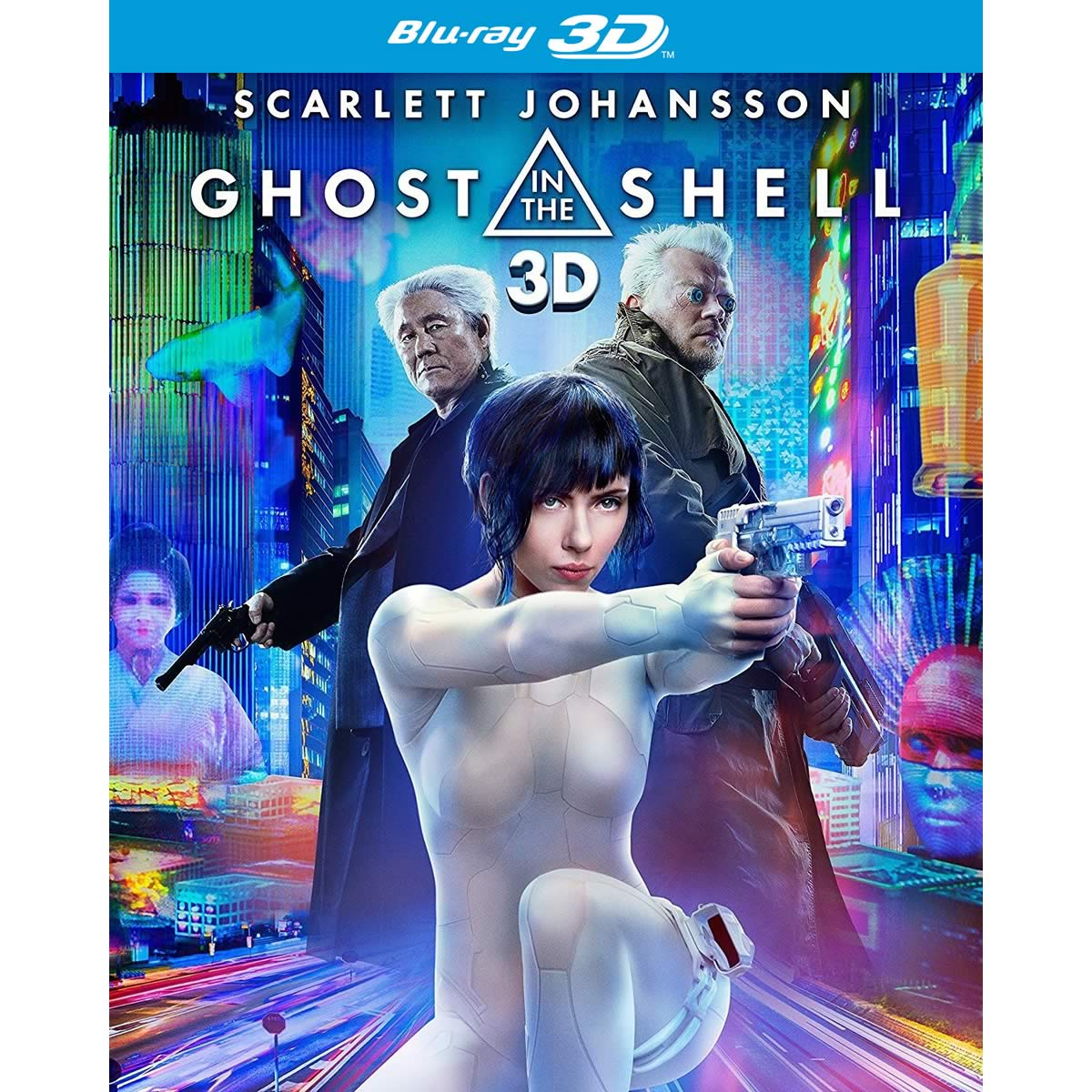 GHOST IN THE SHELL 3D (BLU-RAY 3D/2D)