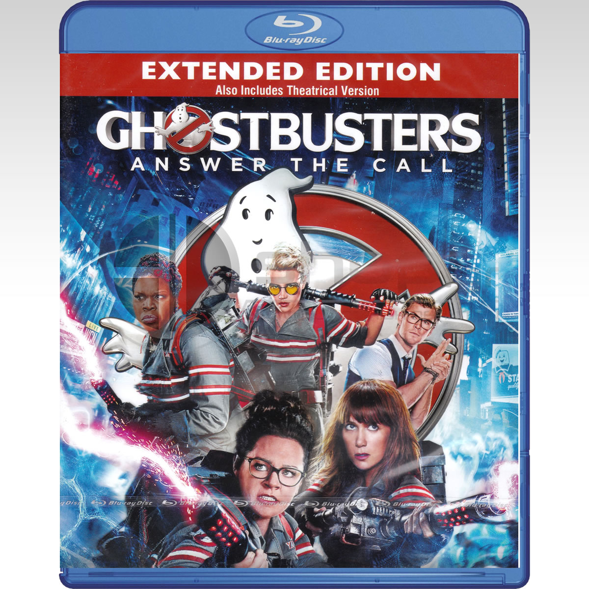 GHOSTBUSTERS [2016] Extended (BLU-RAY)