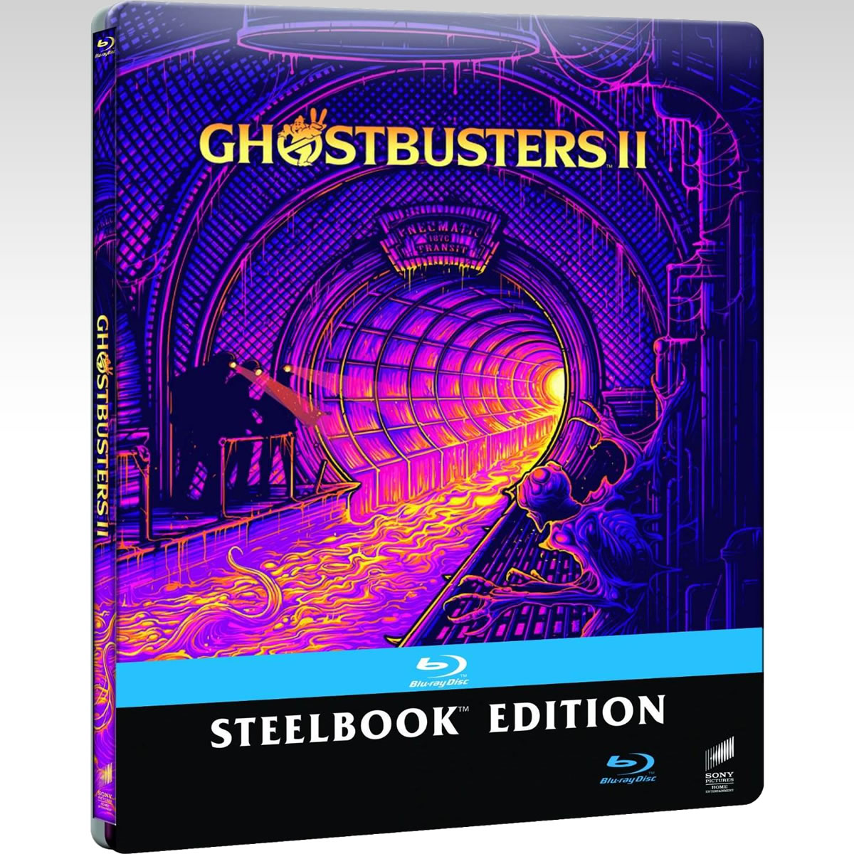 GHOSTBUSTERS II - ������� ����������� 2 [4K MASTERED]  Limited Edition Steelbook [��������� �� ���������� ����������] (BLU-RAY)