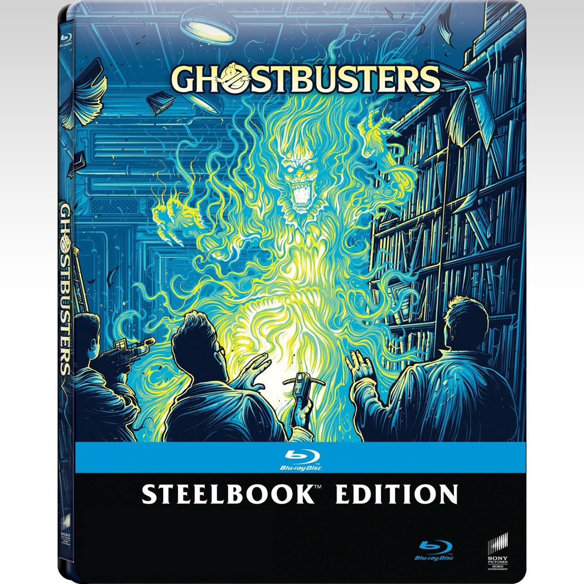 GHOSTBUSTERS - ������� ����������� [4K MASTERED]  Limited Edition Steelbook [��������� �� ���������� ����������] (BLU-RAY)