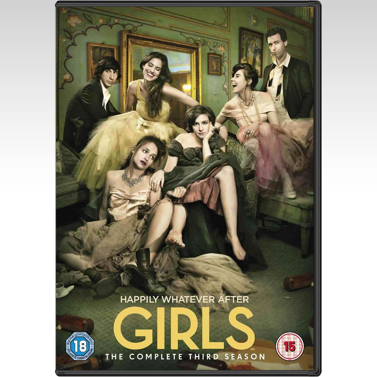 GIRLS: THE COMPLETE 3nd SEASON - GIRLS: 3� �������� (2 DVDs)