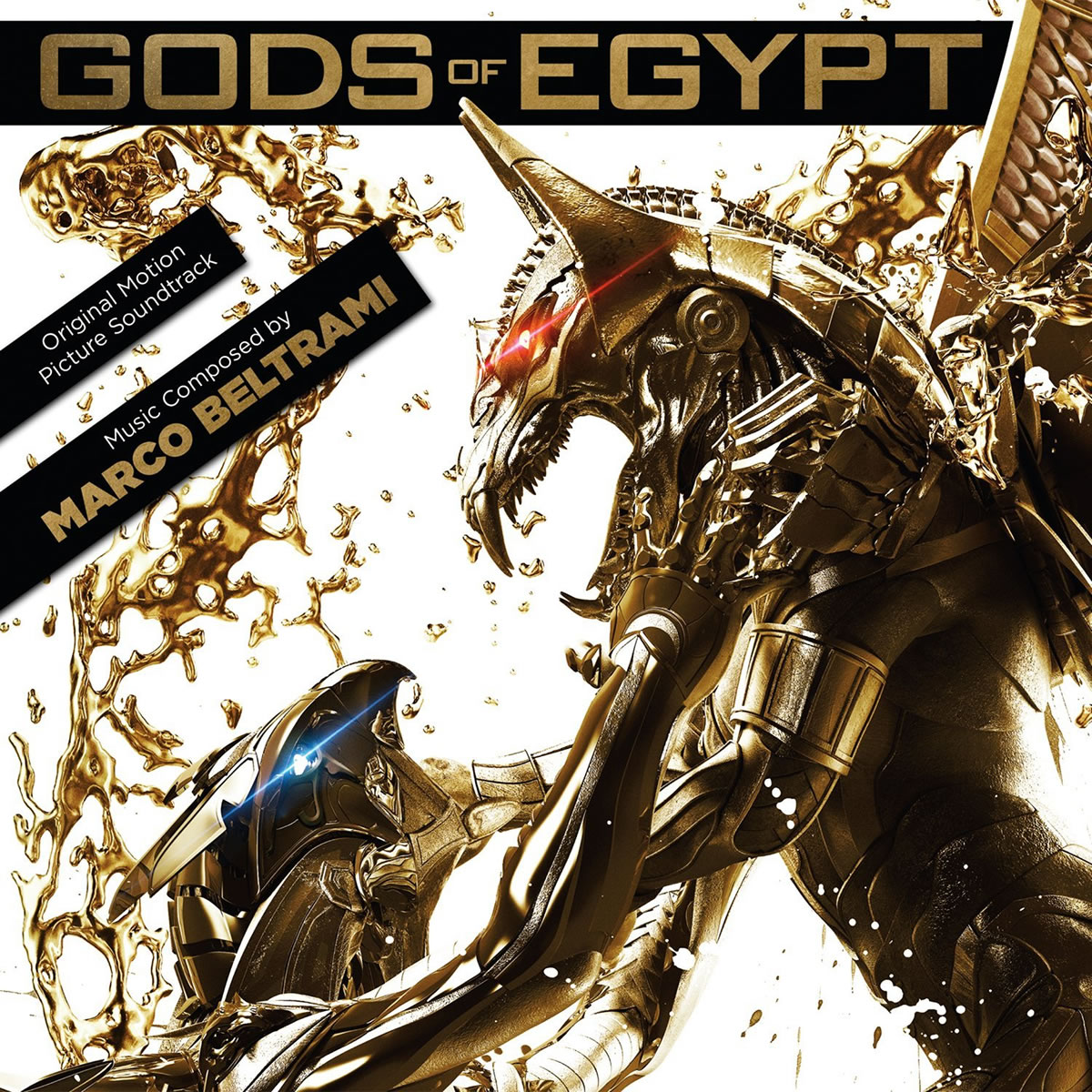 GODS OF EGYPT - THE ORIGINAL MOTION PICTURE SOUNDTRACK (AUDIO CD)