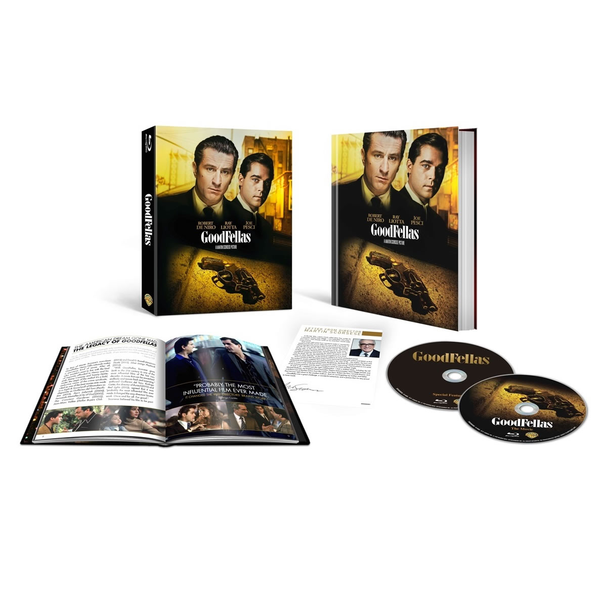 GOODFELLAS [4K ReMASTERED] 25th Anniversary - �� ���� ������ [4K ReMASTERED] ��������� ������ 25 ������ - Limited Collector's Edition (2 BLU-RAYs)