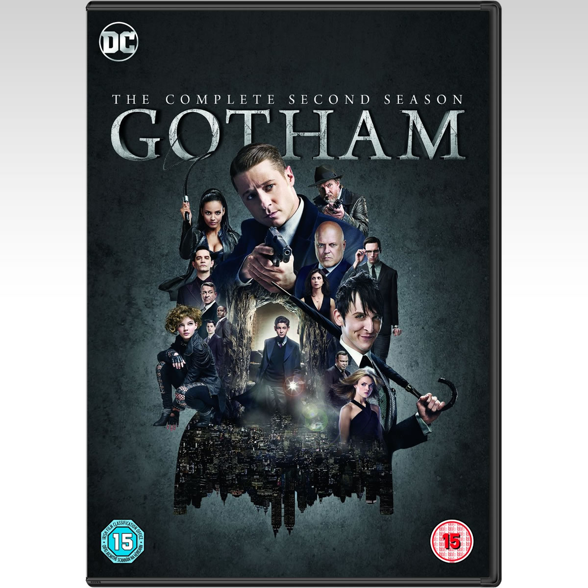 GOTHAM: THE COMPLETE 2nd SEASON (6 DVDs)