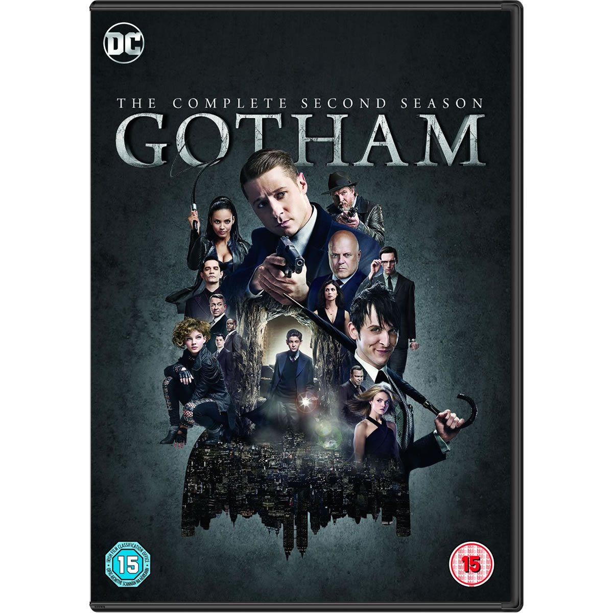 GOTHAM: THE COMPLETE 2nd SEASON - GOTHAM: 2ος ΚΥΚΛΟΣ (6 DVDs)