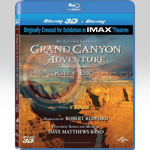 GRAND CANYON ADVENTURE (BLU-RAY 3D/2D)
