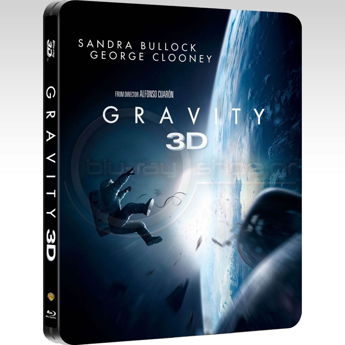 GRAVITY 3D - Limited Collector's Edition FuturePak (BLU-RAY 3D + BLU-RAY)