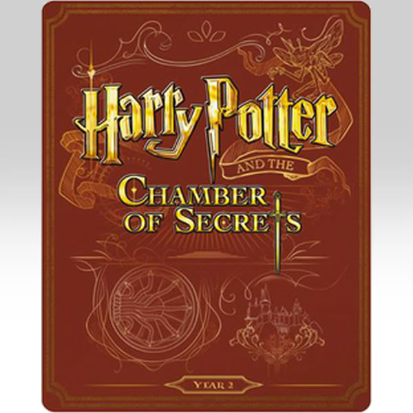 HARRY POTTER AND THE CHAMBER OF SECRETS - Ο ΧΑΡΙ ΠΟΤΕΡ ΚΑΙ Η ΚΑΜΑΡΑ ΜΕ ΤΑ ΜΥΣΤΙΚΑ Limited Edition Steelbook ΑΠΟΚΛΕΙΣΤΙΚΟ (BLU-RAY)