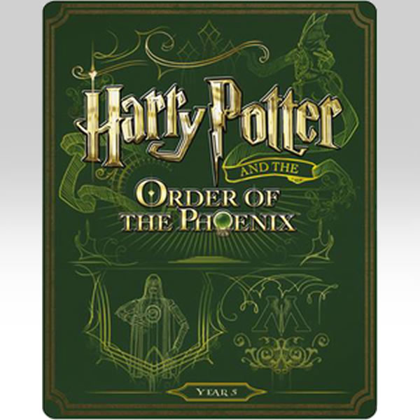 HARRY POTTER AND THE ORDER OF THE PHOENIX - Ο ΧΑΡΙ ΠΟΤΕΡ ΚΑΙ ΤΟ ΤΑΓΜΑ ΤΟΥ ΦΟΙΝΙΚΑ Limited Edition Steelbook ΑΠΟΚΛΕΙΣΤΙΚΟ (BLU-RAY)