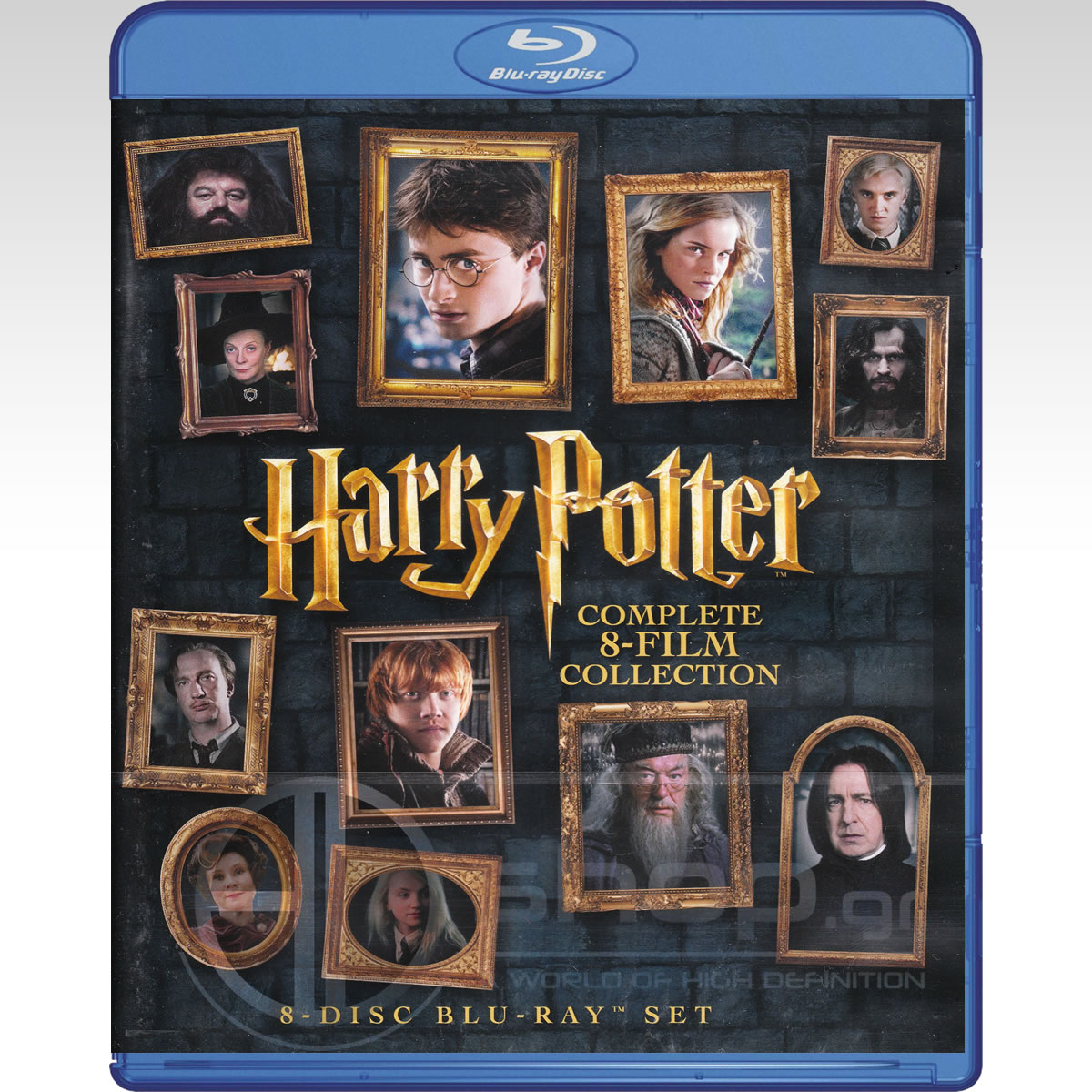 Harry potter the complete 8 film collection for Sejour complet harry potter