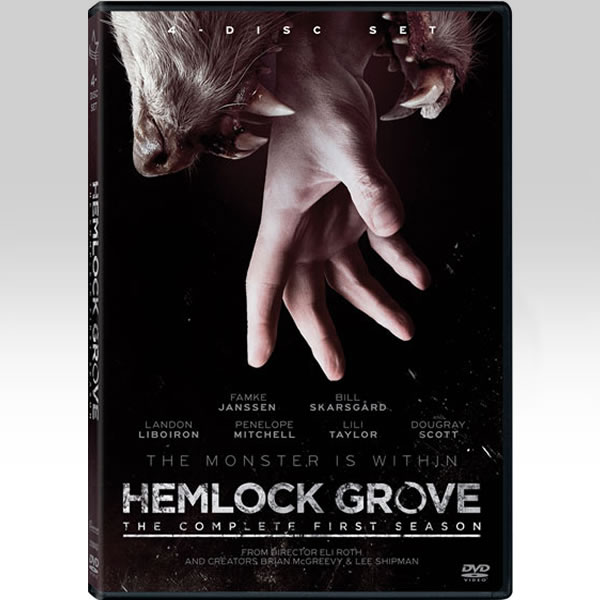 HEMLOCK GROVE: THE COMPLETE SEASON 1 - HEMLOCK GROVE: 1η ΠΕΡΙΟΔΟΣ (4 DVDs)