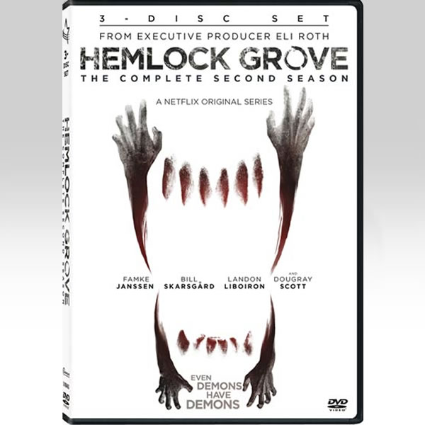 HEMLOCK GROVE: THE COMPLETE SEASON 2 - HEMLOCK GROVE: 2η ΠΕΡΙΟΔΟΣ (3 DVDs)