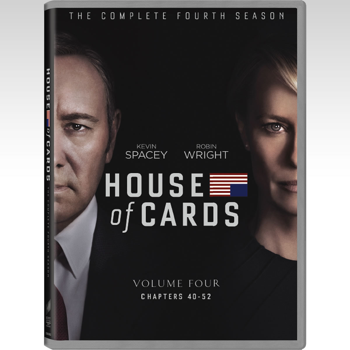 HOUSE OF CARDS Season 4 - HOUSE OF CARDS 4ος ΚΥΚΛΟΣ (4 DVDs)