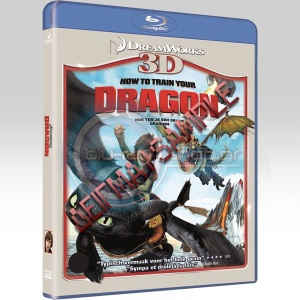 HOW TO TRAIN YOUR DRAGON - ��� �� ������������ �� ����� ��� (BLU-RAY 3D/2D) & ���������������