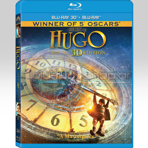 HUGO - Limited 3D Edition (BLU-RAY 3D + BLU-RAY)