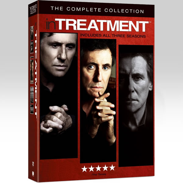 IN TREATMENT - ΜΑΘΗΜΑΤΑ ΨΥΧΟΛΟΓΙΑΣ - THE COMPLETE COLLECTION (20 DVDs)