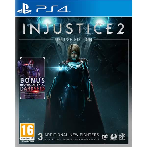 INJUSTICE 2 - DELUXE EDITION (PS4)
