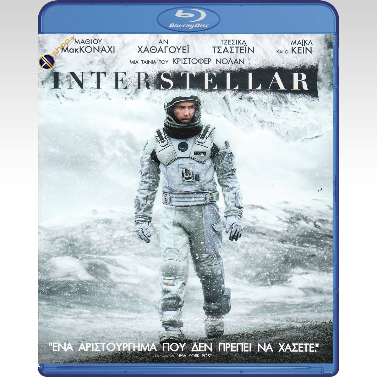 INTERSTELLAR (2 BLU-RAYs)