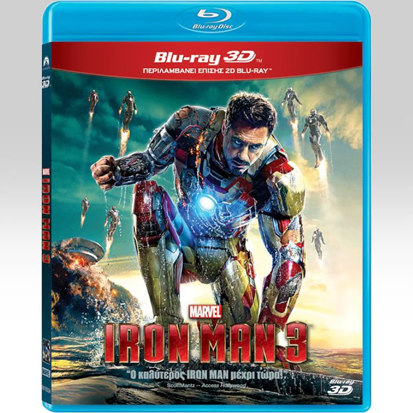 IRON MAN 3 3D Superset (BLU-RAY 3D + BLU-RAY)