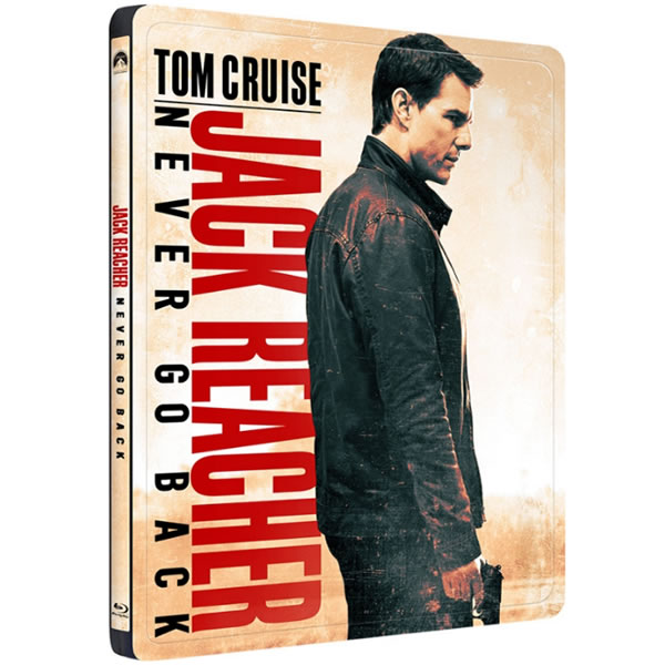 JACK REACHER: NEVER GO BACK Limited Edition Steelbook (BLU-RAY) + GIFT Steelbook PROTECTIVE SLEEVE