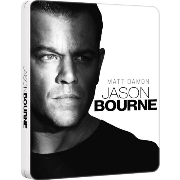 JASON BOURNE Limited Edition Steelbook [Imported] (BLU-RAY)