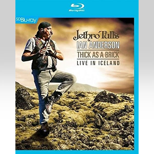JETHRO TULLS: THICK AS A BRICK - LIVE IN ICELAND [SD UPSCALED] (BLU-RAY)