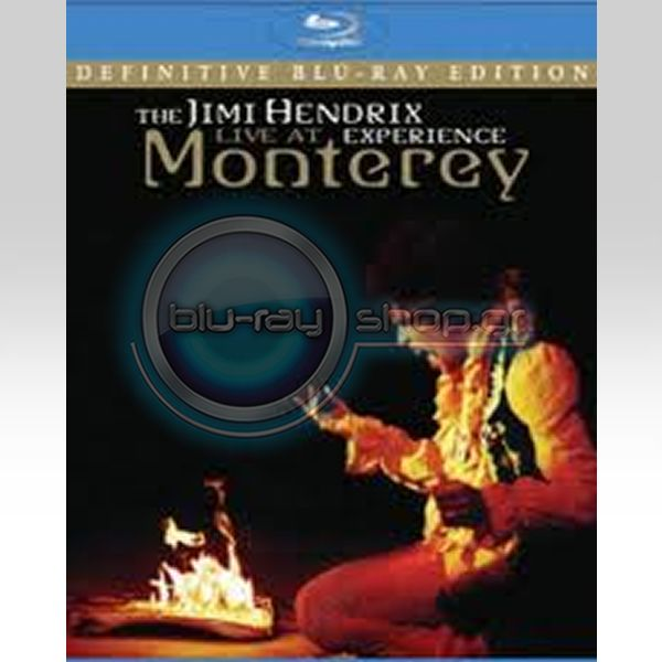 THE JIMI HENDRIX EXPERIENCE: LIVE AT MONTEREY (BLU-RAY)