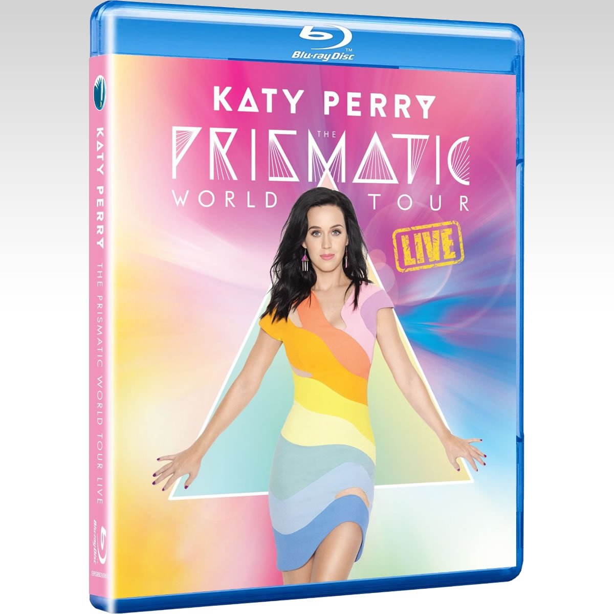 KATE PERRY: THE PRISMATIC WORLD TOUR LIVE (BLU-RAY)