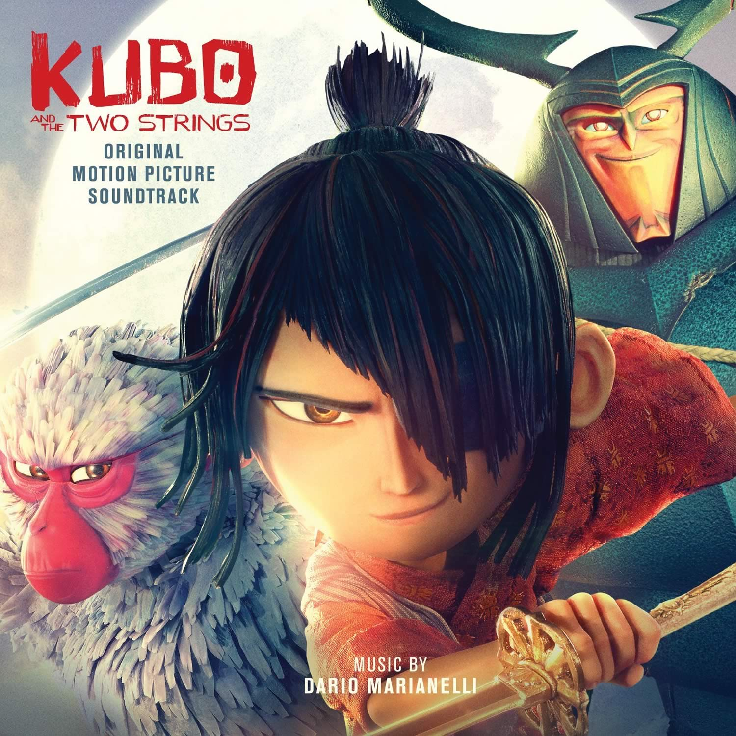 KUBO AND THE TWO STRINGS - ORIGINAL MOTION PICTURE SOUNDTRACK (AUDIO CD)