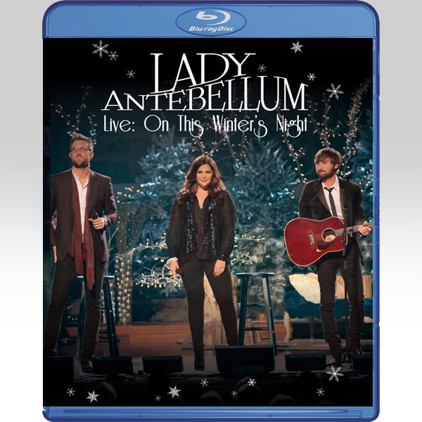 LADY ANTEBELLUM: LIVE - ON THIS WINTER'S NIGHT (BLU-RAY)