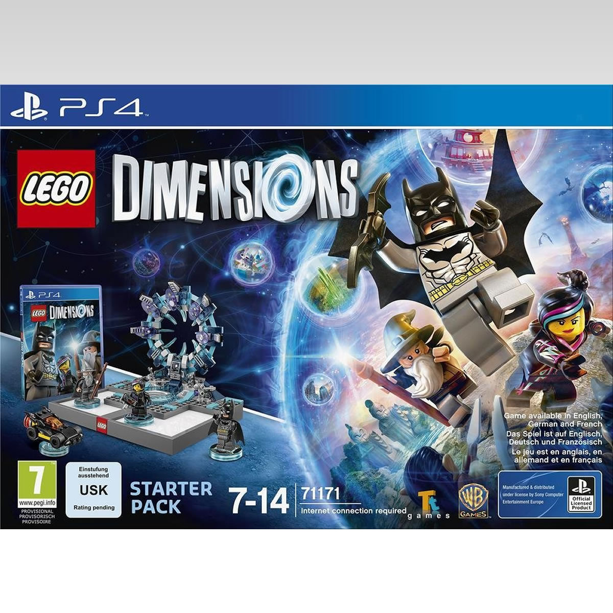 LEGO DIMENSIONS STARTER PACK (PS4)