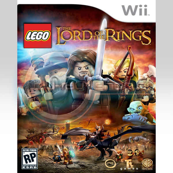 LEGO - LORD OF THE RINGS (Wii)