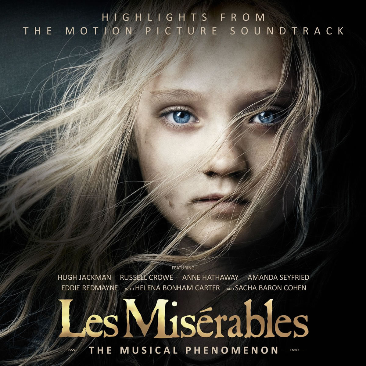 LES MISERABLES - HIGHLIGHTS FROM THE MOTION PICTURE SOUNDTRACK (AUDIO CD)