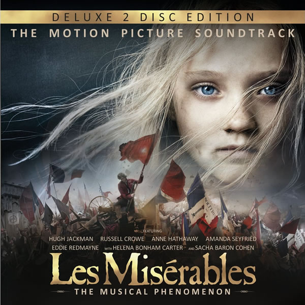 LES MISERABLES - THE MOTION PICTURE SOUNDTRACK Deluxe Edition (2 AUDIO CDs)