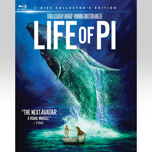 LIFE OF PI 3D - Η ΖΩΗ ΤΟΥ ΠΙ 3D Slipcover (BLU-RAY 3D + BLU-RAY)