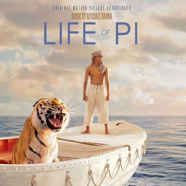 LIFE OF PI - THE ORIGINAL MOTION PICTURE SOUNDTRACK (AUDIO CD)
