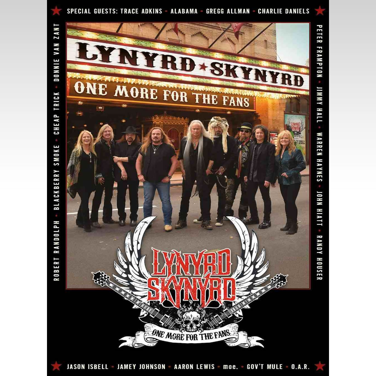 LYNYRD SKYNYRD: ONE MORE FOR THE FANS (BLU-RAY)