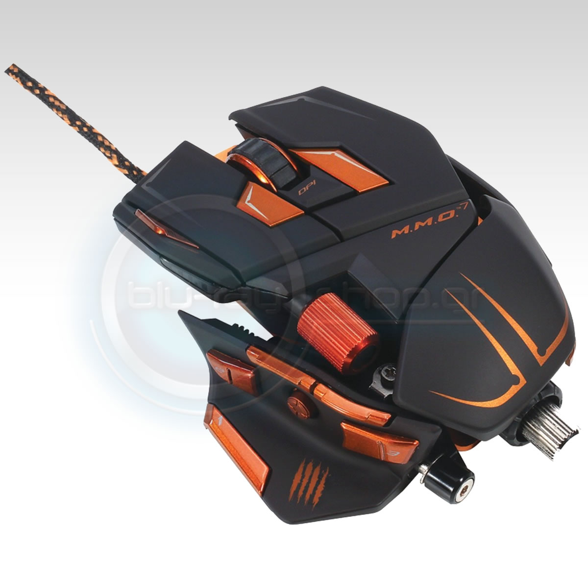 MAD CATZ CYBORG MMO 7 GAMING MOUSE - MATTE BLACK (PC)