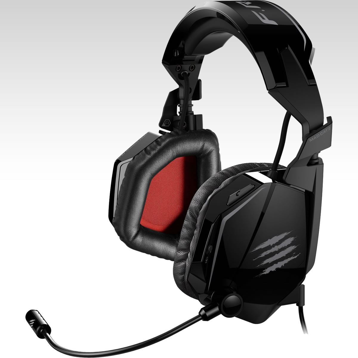 MAD CATZ FREQ TE Tournament Edition STEREO GAMING HEADSET - GLOSS BLACK (PC, MAC, MOBILE)