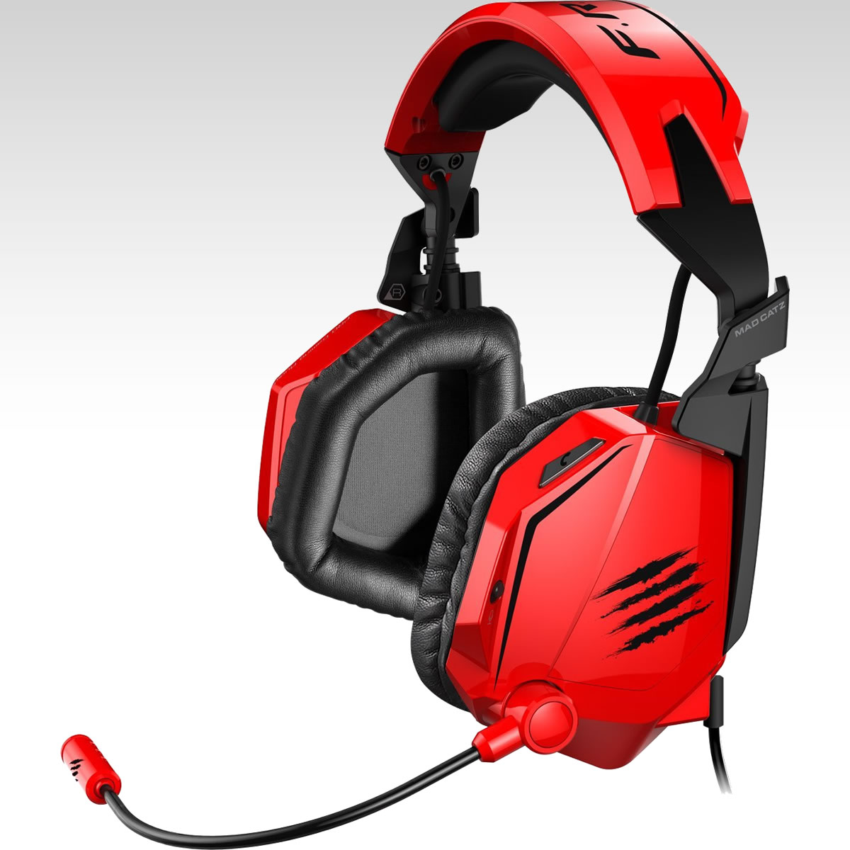 MAD CATZ FREQ TE Tournament Edition STEREO GAMING HEADSET - GLOSS RED (PC, MAC, MOBILE)