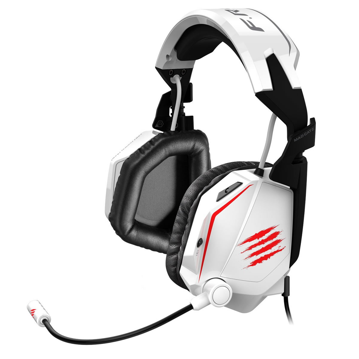 MAD CATZ FREQ TE Tournament Edition STEREO GAMING HEADSET - GLOSS WHITE (PC, MAC, MOBILE)