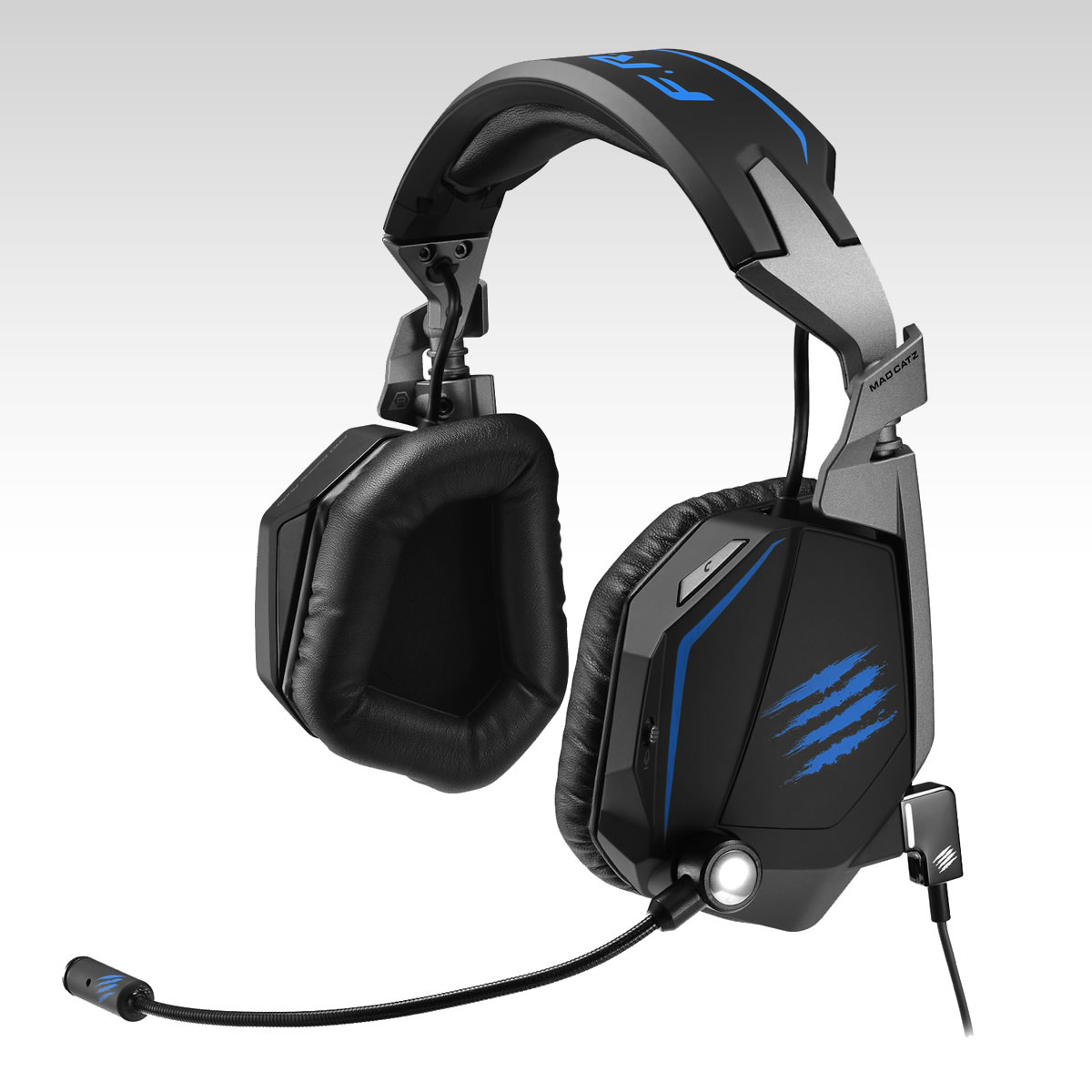 MAD CATZ FREQ TE Tournament Edition STEREO GAMING HEADSET - MATTE BLACK (PC, MAC, MOBILE)