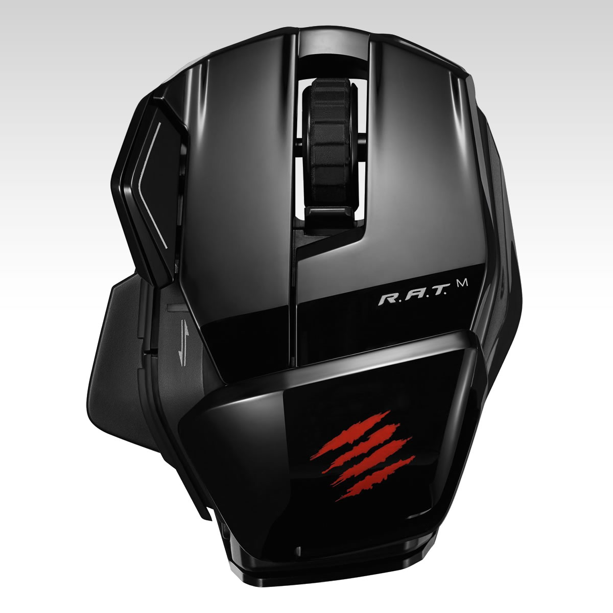 MAD CATZ OFFICE RAT M - GLOSS BLACK (PC, ANDROID)