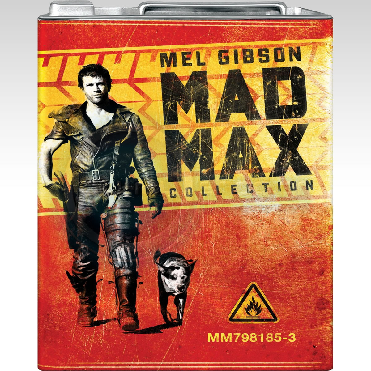 MAD MAX 1-3 COLLECTION - Limited Collector's Edition Gas Canister (3 BLU-RAY)