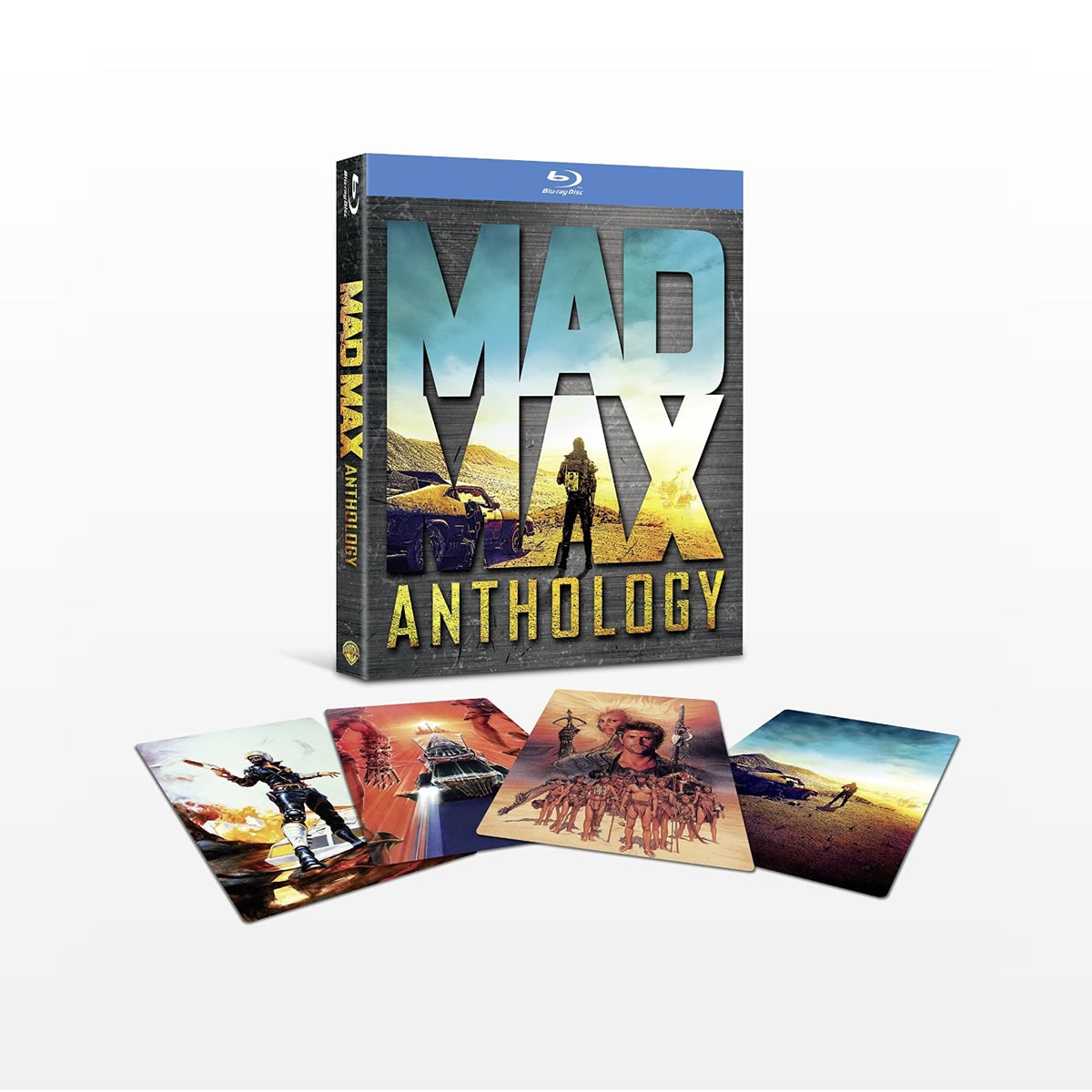 MAD MAX 1-4 Anthology (4 BLU-RAY + DVD)