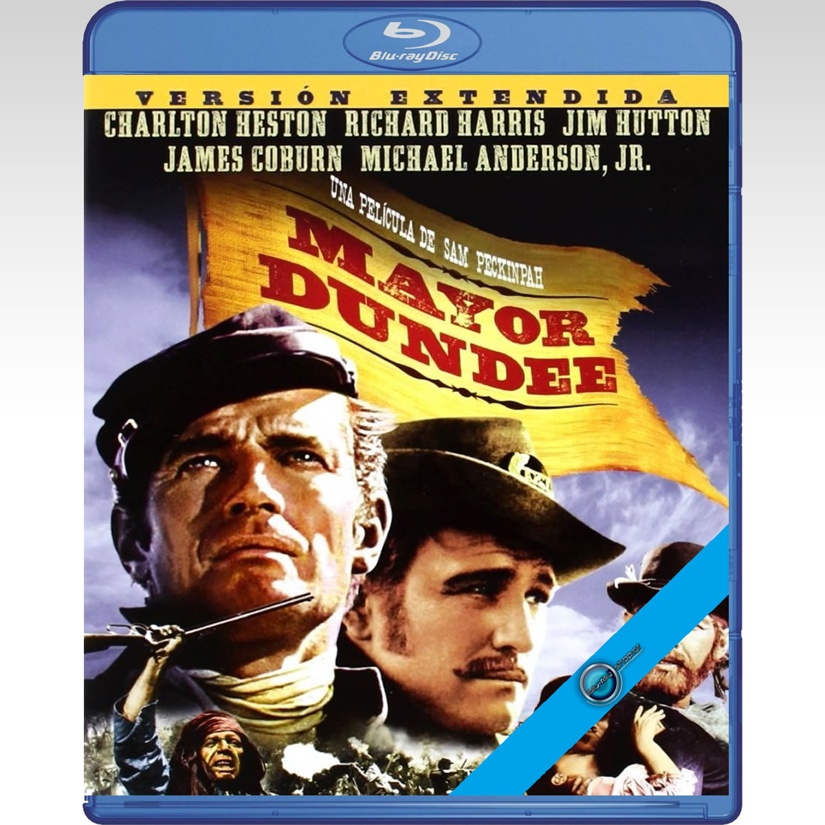MAJOR DUNDEE Extended Edition - � ��������� ��� ��������� Extended Edition [��������� �� ���������� ����������] (BLU-RAY)