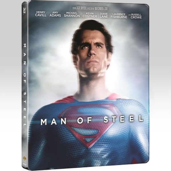 MAN OF STEEL 3D - �������� ��� ������ 3D Limited Edition Steelbook [��������� �� ���������� ����������] (BLU-RAY 3D + BLU-RAY)