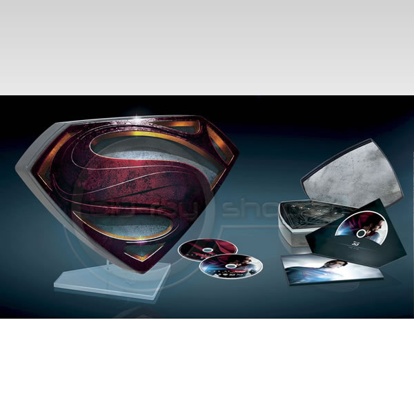 "MAN OF STEEL 3D - ΑΝΘΡΩΠΟΣ ΑΠΟ ΑΤΣΑΛΙ 3D Limited Collector's Edition ""S"" Tin Box (BLU-RAY 3D + BLU-RAY)"