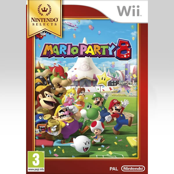 MARIO PARTY 8 - SELECTS (Wii)